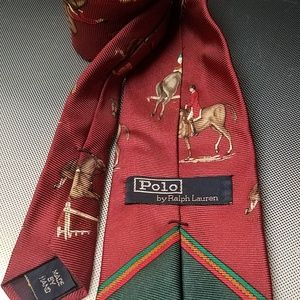 Polo by Ralph Lauren Accessories - Polo by Ralph lauren show jumping rider horse tie